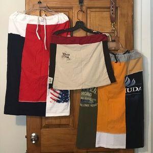 Refried T's skirts. One mini. 2 full